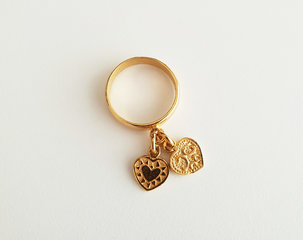 Ringen met bedels