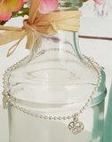Zilveren ballchain armband met 3 hartjes_