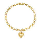 Heart of Gold ketting_