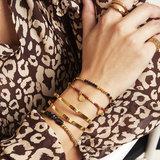 Beads & Coins armband_