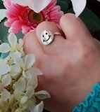 Smiley ring_