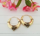Goldplated earrings