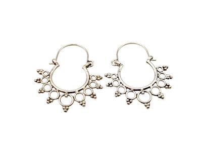 Zilveren oorbellen Boho Gypsy Style