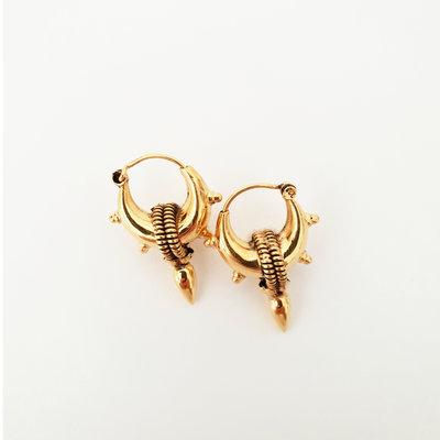 Bali style oorbellen