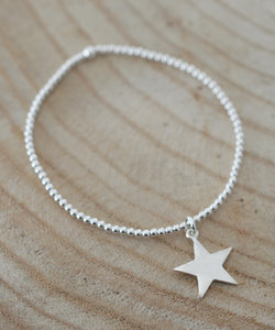 Zilveren armband met ster