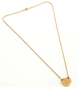 Goldplated ketting