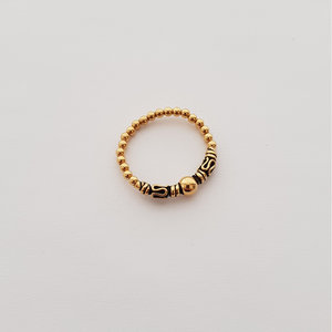 Bali style ring goud (a)