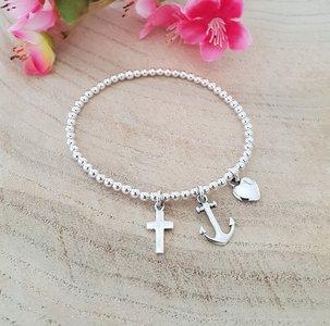 Armband geloof hoop liefde