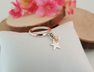 Ring met ster