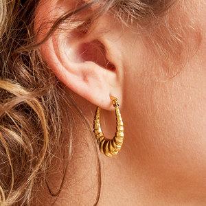 ovale oorbellen