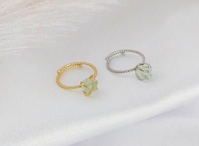 Flourite gemstone ring floriet ring