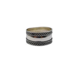 Bali ring zilver
