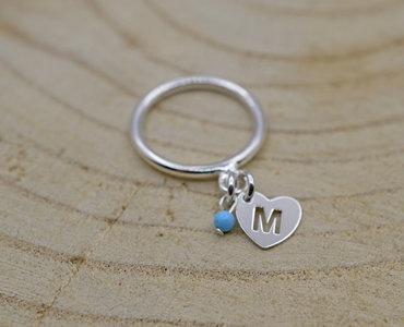 Ring met letter
