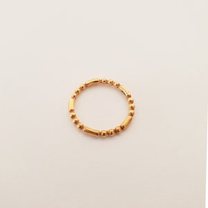 Goldplated ring
